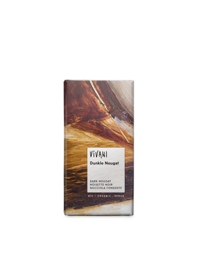 Čokoláda tmavý nugát Vivani 100g Vegan