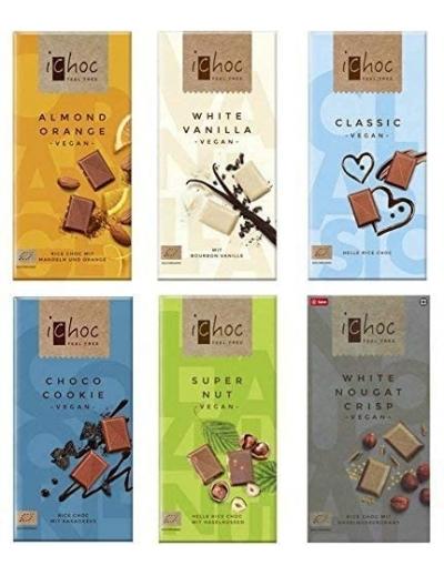 Čokoláda iChoc 80g Vegan