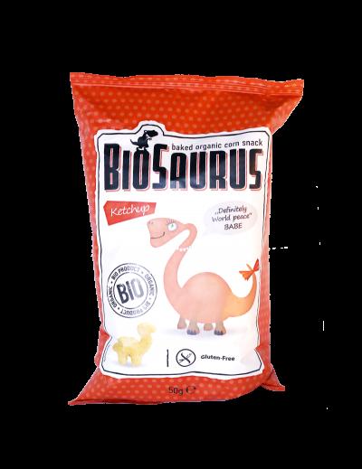 Biosaurus kečup Babe bezgluténový BIO 150g