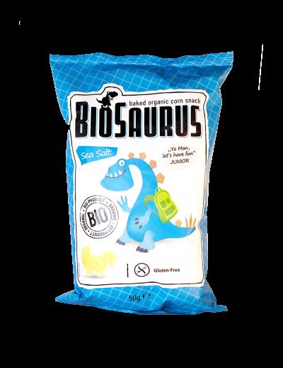 Biosaurus morská soľ Junior bezgluténový BIO 50g