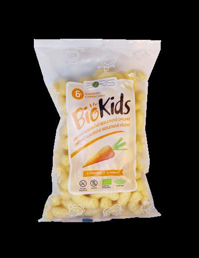 Chrumky kukuričné mrkvové BIO 55g