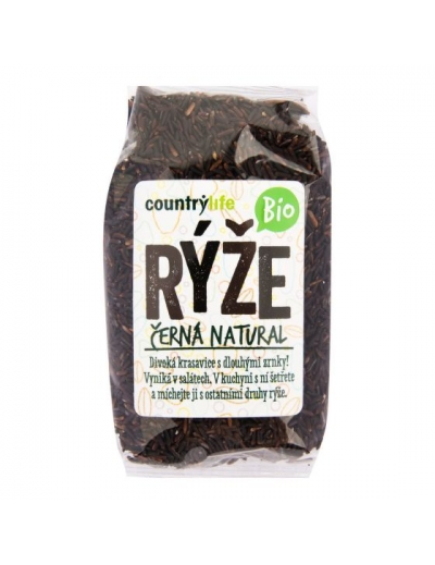 Ryža čierna natural 500 g BIO