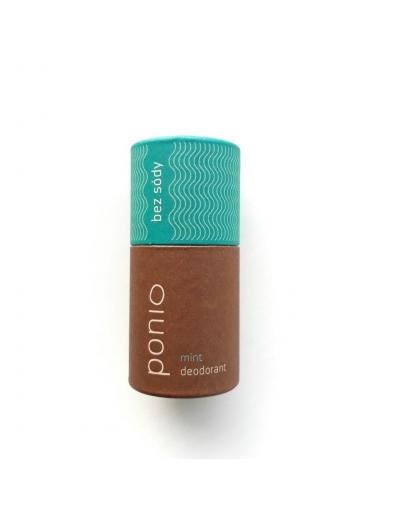 Ponio - Mint - prírodný deodorant, sodafree 60g