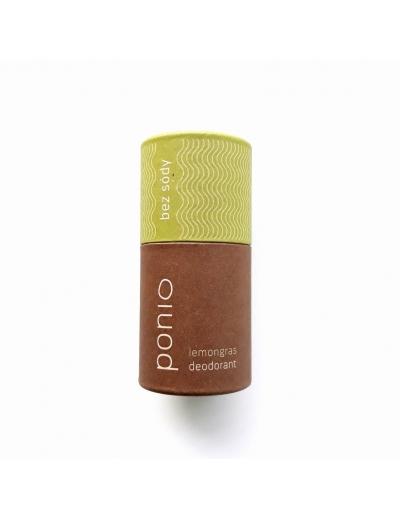 Ponio - Lemongras - prírodný deodorant, sodafree 60g