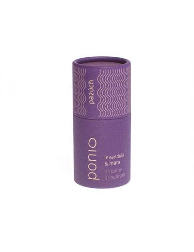 Ponio - Levanduľa & mäta - prírodný deodorant 65g