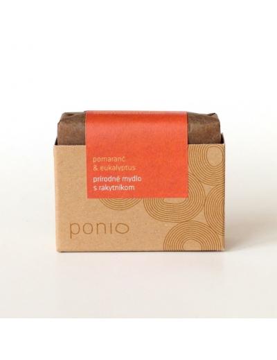 Ponio - Pomaranč & eukalyptus s rakytníkom 100g