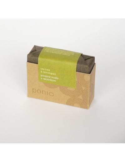 Ponio - Tea tree & lemongras s rakytníkom 100g