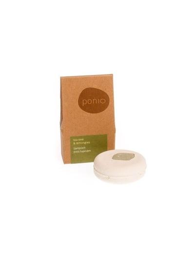 Ponio Tea tree & lemongras - šampúch proti lupinám 60g
