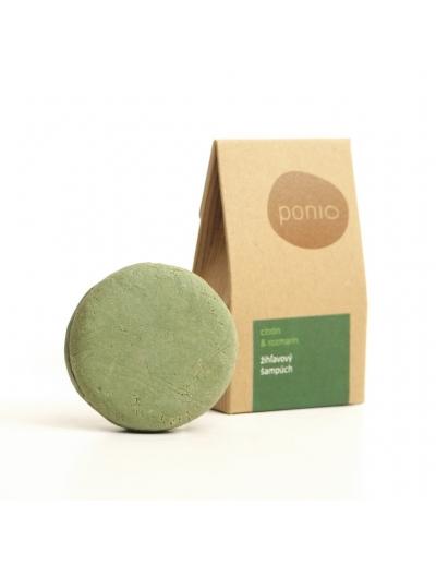 Ponio - Citrón a rozmarín - žihľavový šampúch 60g