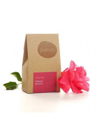 Ponio - Ružová alej - žihľavový šampúch 60g