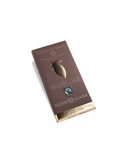 Chocolat Stella Čokoláda horká 92% BIO 100g