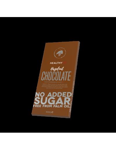 HealthyCo – Belgická čokoláda bez cukru - Hazelnut 100g