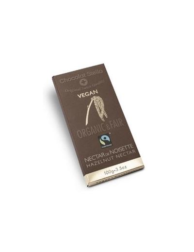Chocolat Stella Čokoláda s lieskovými orechmi 43% vegan BIO 100g