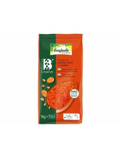 Bonduelle Pepitky z červenej šošovice a mrkvy 1 kg
