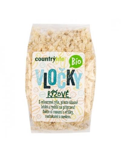 Vločky ryžové 250 g BIO