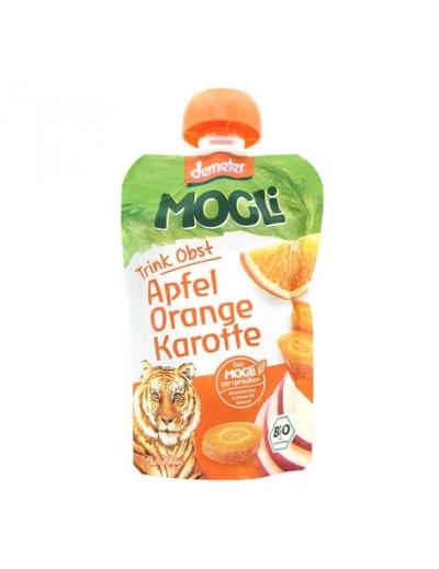 Moothie jablko pomaranč mrkva bez cukru BIO 100g