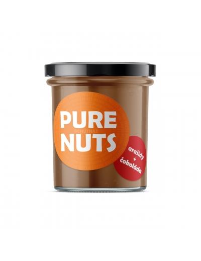Pure nuts - arašidy+čokoláda 330g