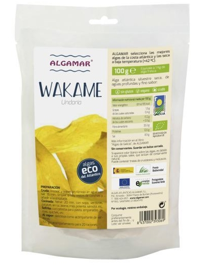 Algamar Wakame seaweed 100 gr