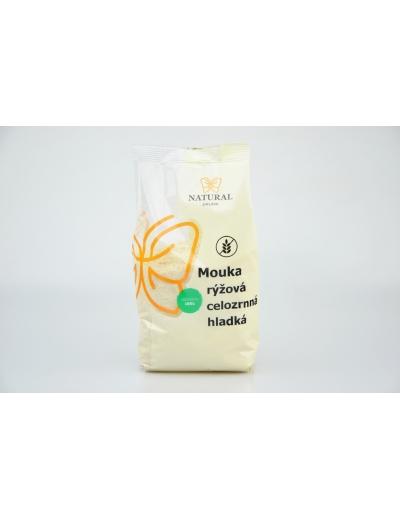 Mouka rýžová celozrnná hladká - Natural 500g
