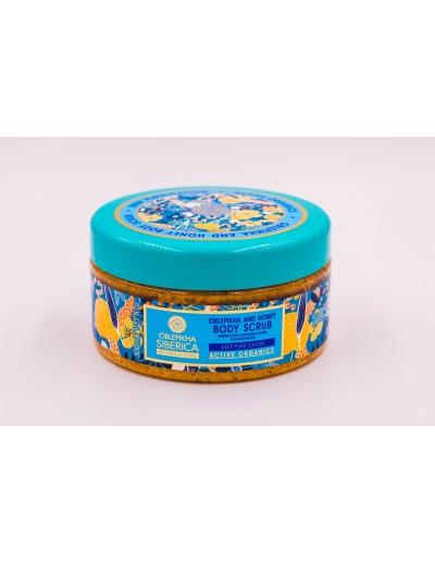 Oblepikha Siberica: Rakytníkovo – medový telový peeling 300ml