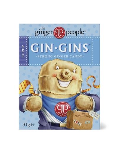 Gin Gin cukríky - krabička - rôzne druhy