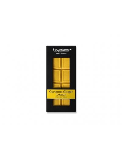 Bio Benjamin Čokoláda ~ kurkuma zázvor citrón (60 g)