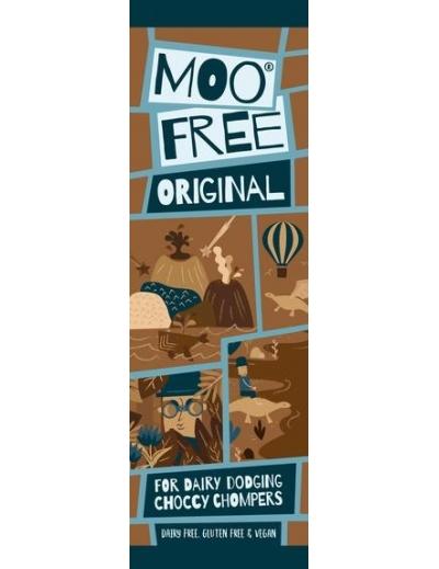 Moo free : Mini Moos čoko tyčinka – mliečna (20g)