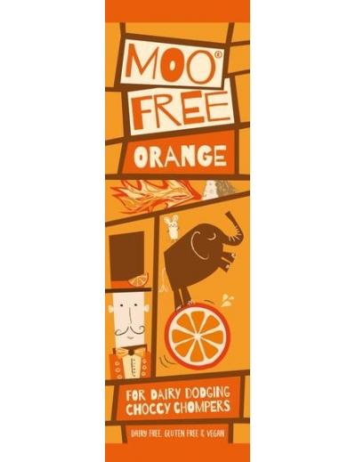 Moo free : Mini Moos čoko tyčinka – pomaranč (20g)
