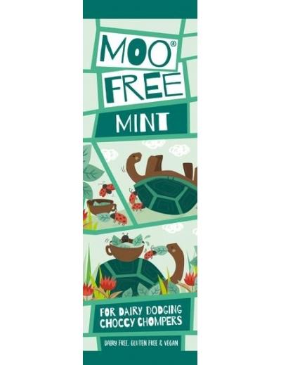 Moo free : Mini Moos čoko tyčinka – mäta (20g)