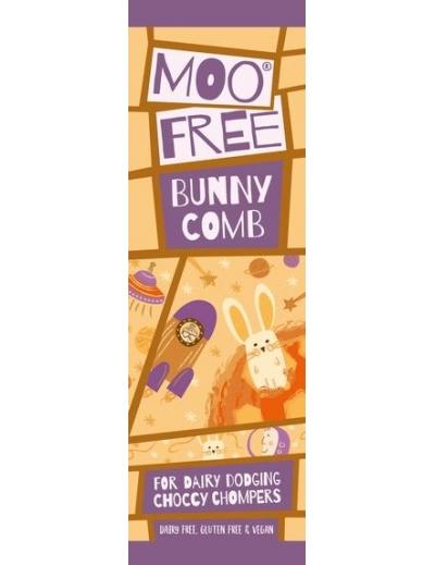 Moo free : Mini Moos čoko tyčinka – medový plást (23g)