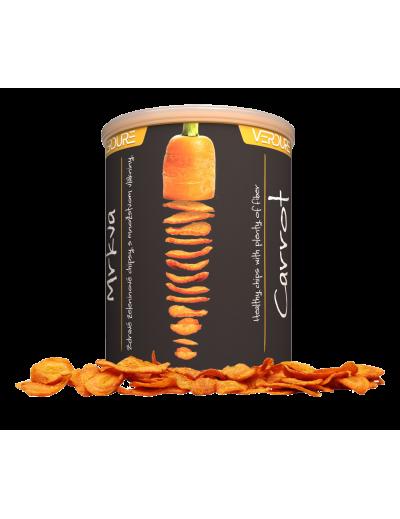 VERDURE - zeleninové chipsy - Mrkva, 60 g