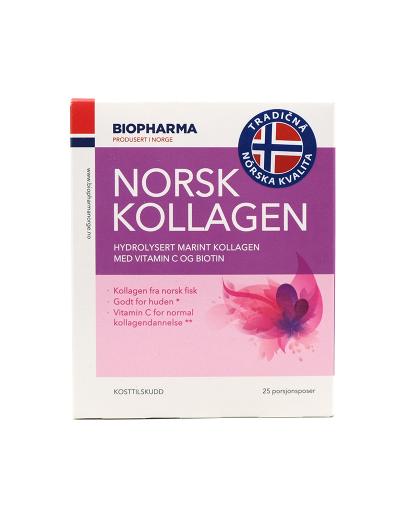 NORSK KOLLAGEN S VIT.C A BIOTINOM 25X5G