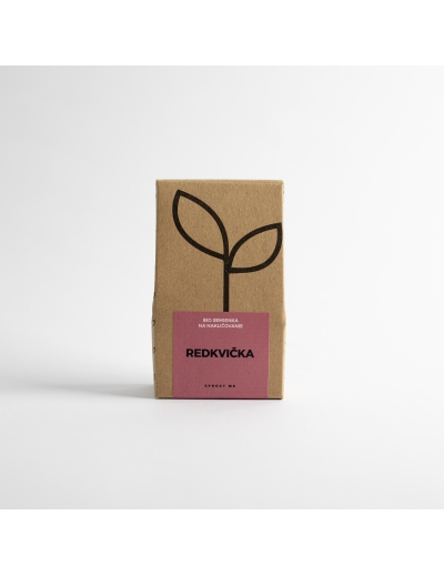 Sprout-Bio semienka na nakličovanie REDKVIČKA