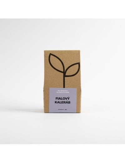 Sprout-Bio semienka na nakličovanie FIALOVÝ KALERÁB