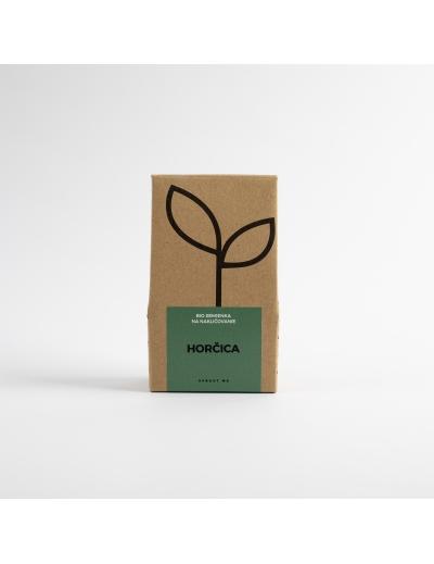 Sprout-Bio semienka na nakličovanie HORČICA
