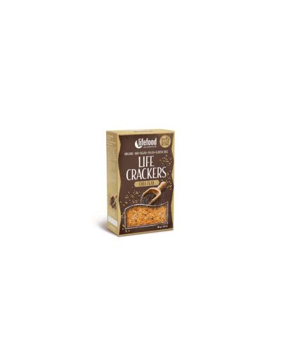 Bio Life crackers s chia semienkami bezgluténové BIO RAW 90g