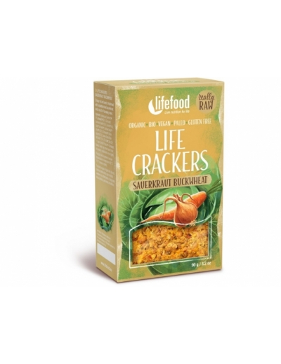 Bio Life Crackers Zelňáky RAW 90g