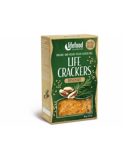 Bio Life crackers Rozmarýnové RAW 90 g