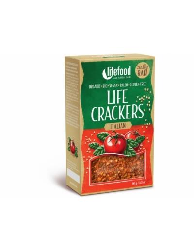 Bio Life crackers Talianske RAW 90 g