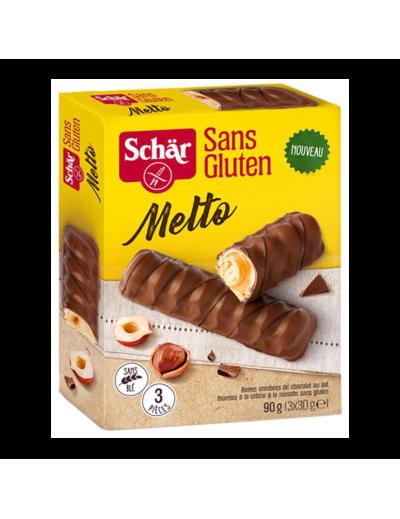 Trubičky čokoládové plnené Melto (3x30g) 90g