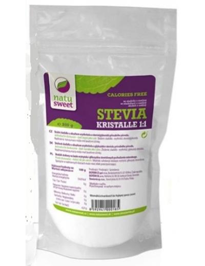 Sladidlo Stevia Kristalle 1:1 - NATUSWEET