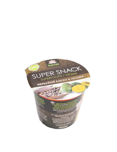 SuperSnack kakao-lucuma BIO RAW 60g