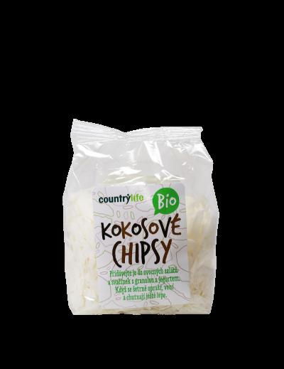 Kokosové chipsy nepražené 150g BIO