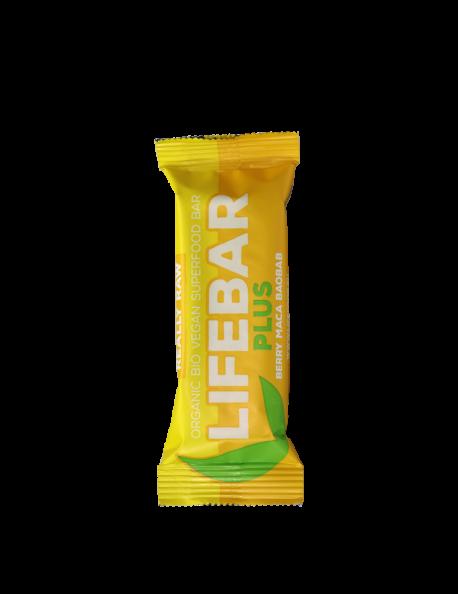Tyčinka Lifebar PLUS maca baobab BIO RAW 47g