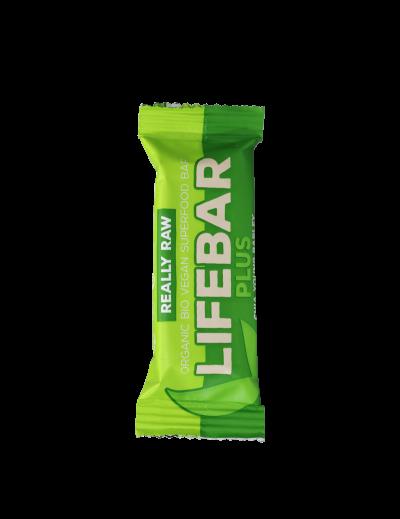 Tyčinka Lifebar PLUS jačmeň chia BIO RAW 47g
