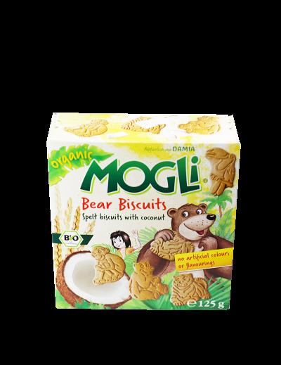 Sušienky maslové Medvedík kokos bez cukru BIO 125g