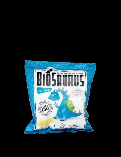 Biosaurus malý morská soľ Junior bezgluténový BIO 15g