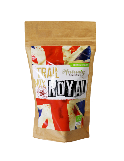 Zmes Trail Mix Royal BIO RAW 100g
