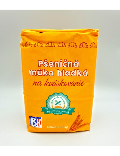Múkapšeničná hladká na kváskovanie 1kg
