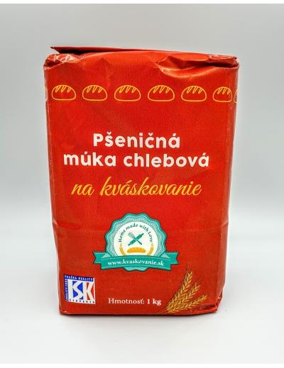 Múka pšeničná chlebová na kváskovanie 1kg